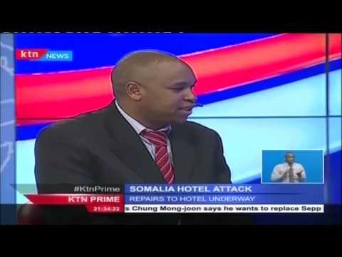 Jazeera Hotel Manager, Justus Kisaulu: How Somalia Hotel was attacked