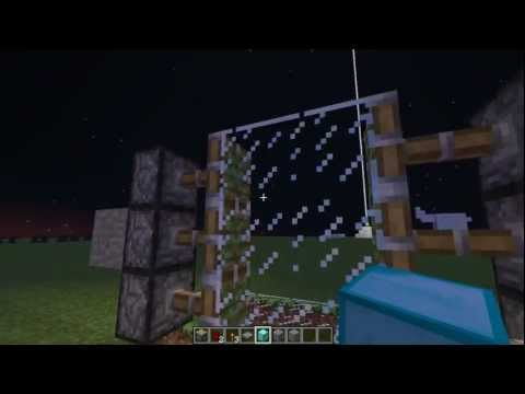 Minecraft Tutorials : 2x3 Piston Door