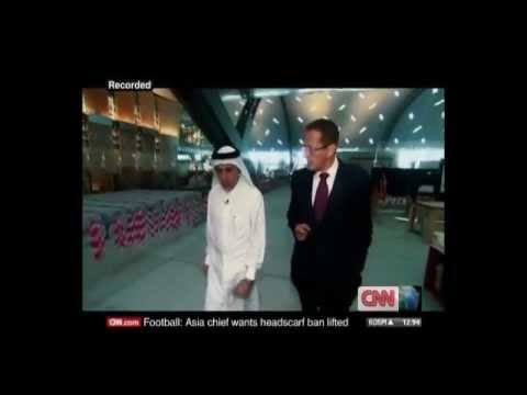 CNN interviews Qatar Airways CEO on 31 January 2012