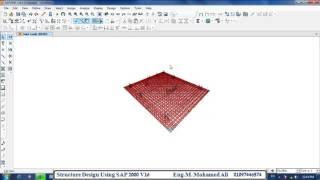 Download 13- Design of Raft Foundation sap2000 v16 -   شرح برنامج ساب مهندس محمد محمد على إبراهيم 3Gp Mp4