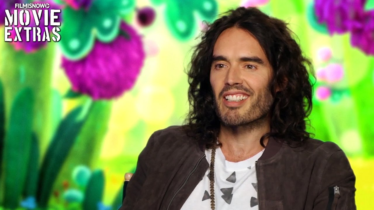 Trolls | On-set visit with Russell Brand 'Creek'