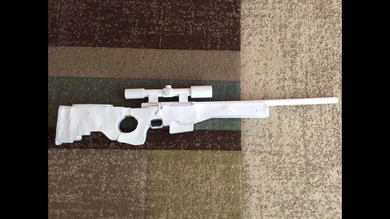 How to make как сделать стреляющую снайперскую винтовку из 21