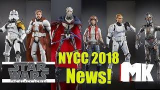 Star Wars The Black Series NYCC 2018 News