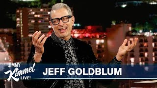 Jeff Goldblum on Fashion, Performing for the Queen & New Disney+ Show