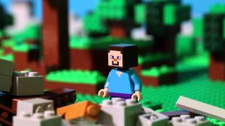LEGO® Minecraft - The First Night Stop Motion