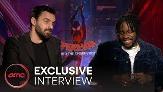 SPIDER-MAN: INTO THE SPIDER-VERSE Interviews (Shameik Moore, Jake Johnson) | AMC Theatres (2018)