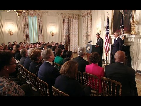 President Obama Delivers a Statement on Attorney General Eric Holder