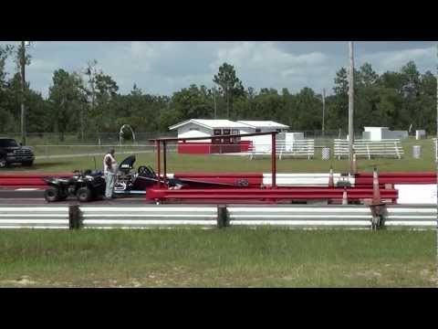 Local PC dragster makes a pass