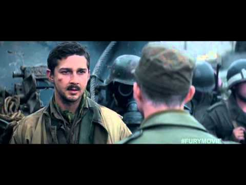 Fury Tv Spot - Heart Pounding (2014) - Brad Pitt, Shia Labeouf War Drama Hd video