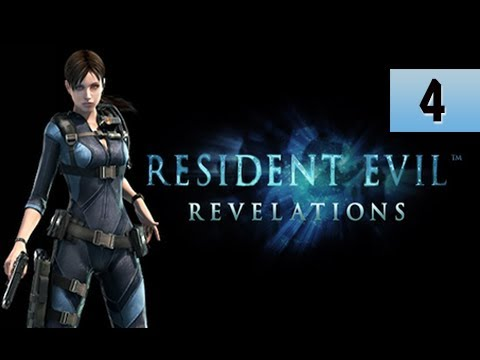 Resident Evil Revelations Walkthrough - Part 4 Episode 2 Double Mystery Gameplay