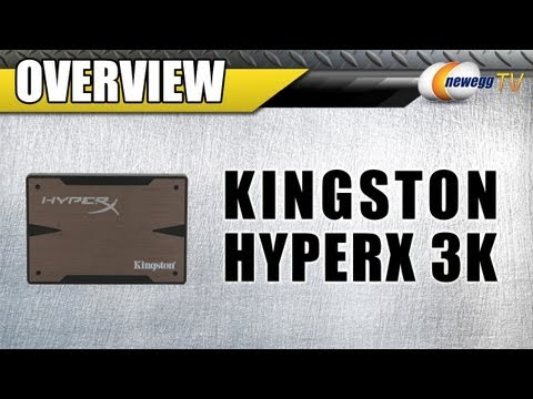 Newegg TV: Kingston HyperX 3K 240GB SATA III MLC Solid State Drive SSD Overview and Benchmarks