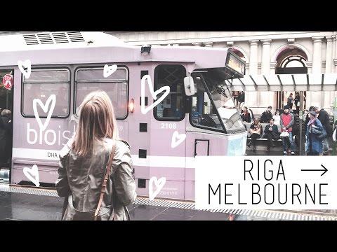 RIGA → MELBOURNE, AUSTRALIA   chanelegance