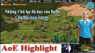 AoE Highlight || BiBi cầm Pal cân map Large khiến VaneLove, TuTj sửng sốt