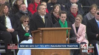 Greitens sworn in as Missouri's 56th governor