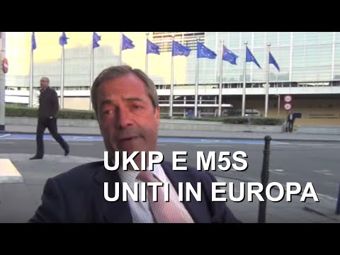 Nigel Farage looking at 2014 European elections