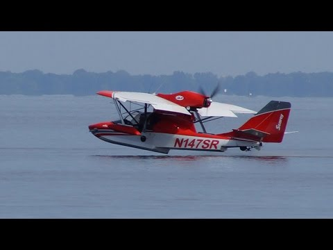Flying the Progressive Aerodyne Searey Elite Amphibious Light Sport Aircraft – AINtv