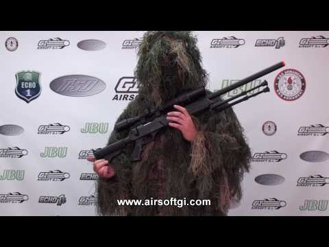 Airsoft GI - Echo 1 Advanced Sniper Rifle (ASR) Spring Powered Bolt Action Sniper Rifle