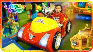 CHUCK E CHEESE Indoor Playground for Kids!!!