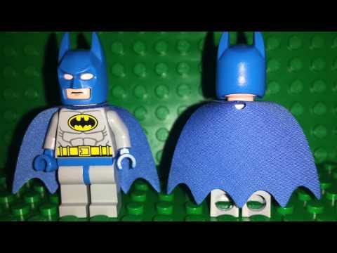 2014 LEGO Batman and Joker Minifigures DC Super Heroes