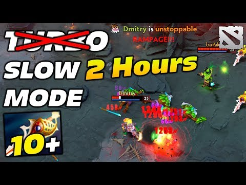 LONGEST 2 Hours TURBO MODE in Patch 7.07 Dota 2