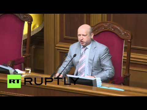 Ukraine: Turchynov declares dissolution of communist faction