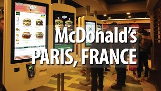 McDonald's Paris, France (Asian's Reaction)