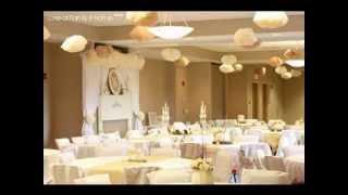 Golden wedding decor ideas
