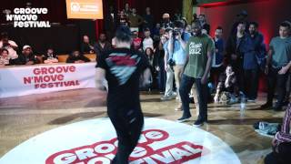 Prince vs Poppin C - GROOVENMOVE BATTLE 2017