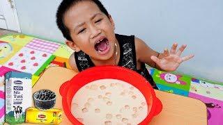 Trò Chơi Cốc Trà Sữa Khổng Lồ - Bé Nhím TV - Đồ Chơi Trẻ Em Thiếu Nhi