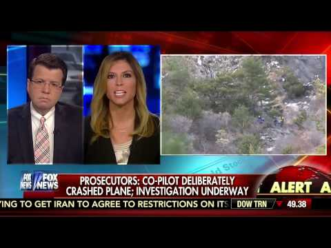 RPT: All German airlines will require two crew members in cockpit at all times • Cavuto (03.26.15)