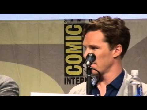 Benedict Cumberbatch at SDCC Penguins of Madagascar Panel July 24 2014