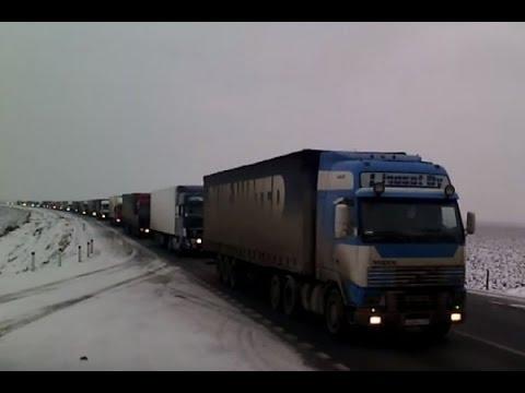 Дальнобойщики готовят всероссийскую забастовку