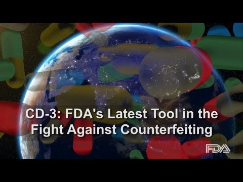 CD-3: A New Tool in FDA's Fight Against Counterfeit Products