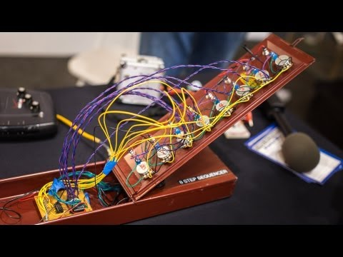 World Maker Faire 2013: Making Sound Boxes from Everyday Objects