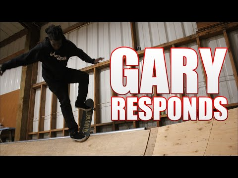 Gary Responds To Your SKATELINE Comments - Shane Oneill, Skate 4, Blunt 180 Line