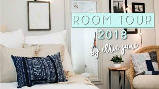 Room Tour 2018 - Small and Cozy Bedroom Inspiration