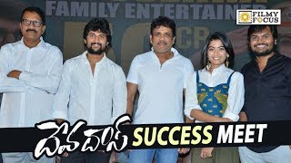Devadas Movie Success Meet || Nagarjuna, Nani, Rashmika Mandanna, Akanksha Singh