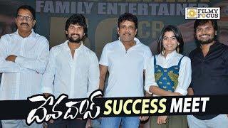 Devadas Movie Success Meet || Nagarjuna, Nani, Rashmika Mandanna, Akanksha Singh