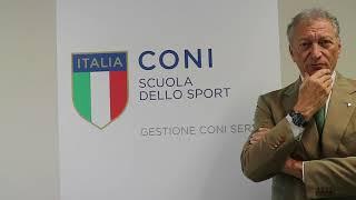 """Luciano Buonfiglio al """"Corso di Alta Specializzazione in Management Olimpico"""""""