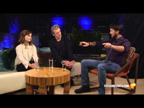 Wil Wheaton Interview with Peter Capaldi and Jenna Coleman
