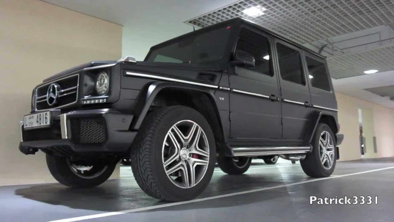 Matte black g63 amg v8 biturbo mercedes benz youtube for Mercedes benz matte black