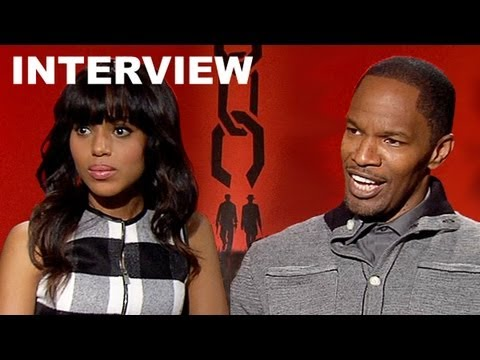 Jamie Foxx & Kerry Washington - Django Unchained Interview : Beyond The Trailer