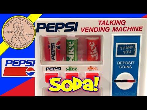 cardboard soda machine