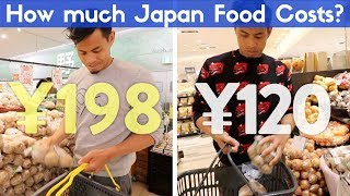 The Real Cost of Food in Japan | Tokyo vs Countryside Supermarket