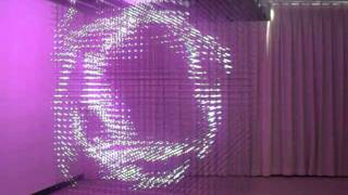 3D LED Hanging Cube (32*32*32=32768 pixels)