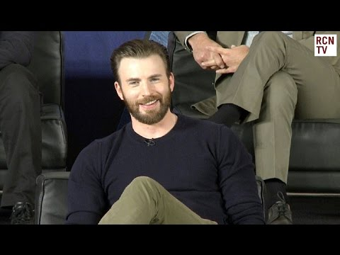 Chris Evans Interview Captain America Civil War Premiere