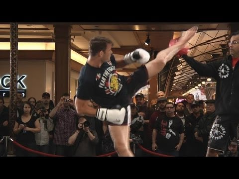 TUF Nations Finale Open Workout Highlights