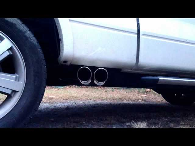 2007 Ford F-150 Lariat 5.4L Roush Dual Exhaust