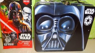 Star Wars Giant Surprise Gift Box & Lunch Bag Xmas Toys Eggs Bags Set Unboxing