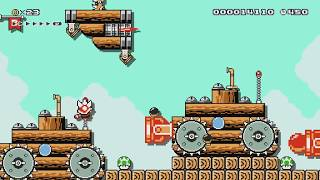 Bowsers Armada by Jeff - Super Mario Maker - No Commentary